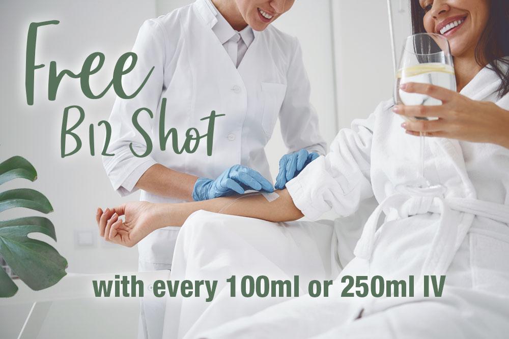 Free B12 Shot